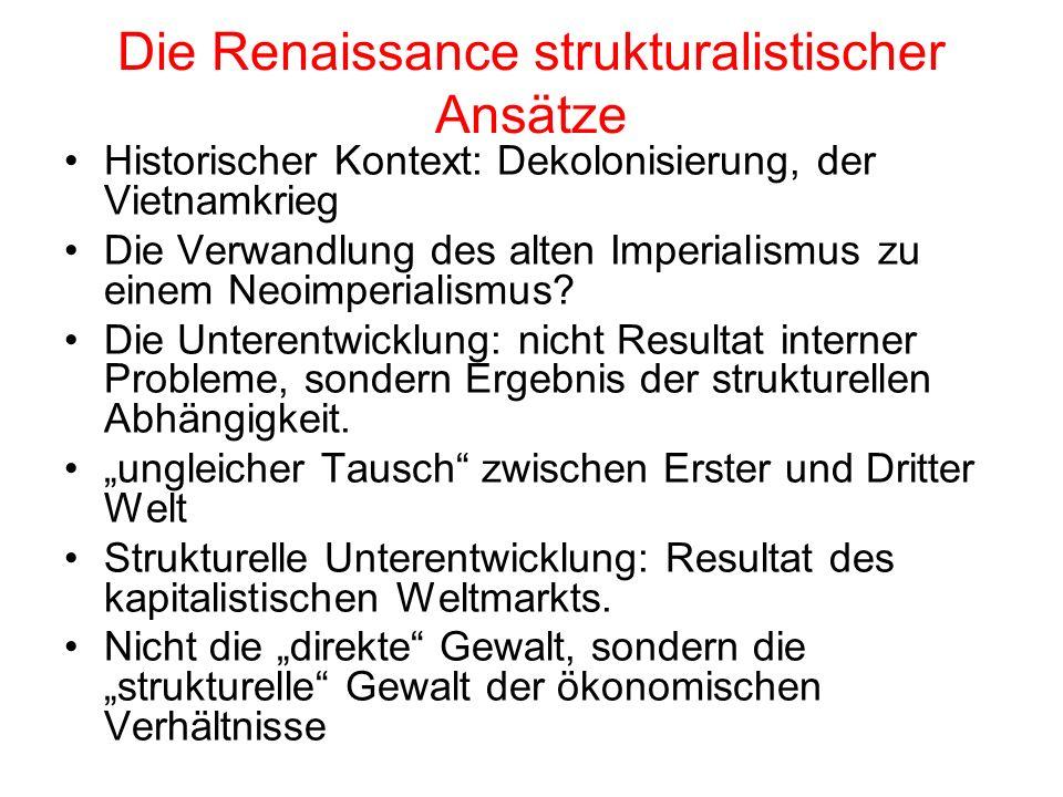 Die Renaissance strukturalistischer Ansätze