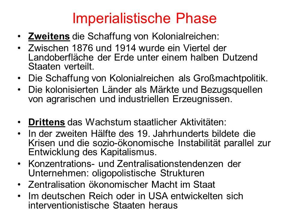 Imperialistische Phase