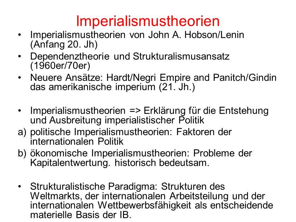 Imperialismustheorien