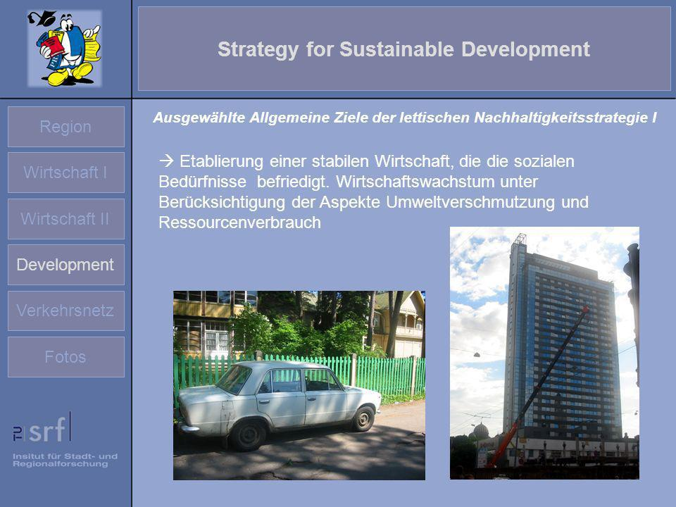 Strategy for Sustainable Development