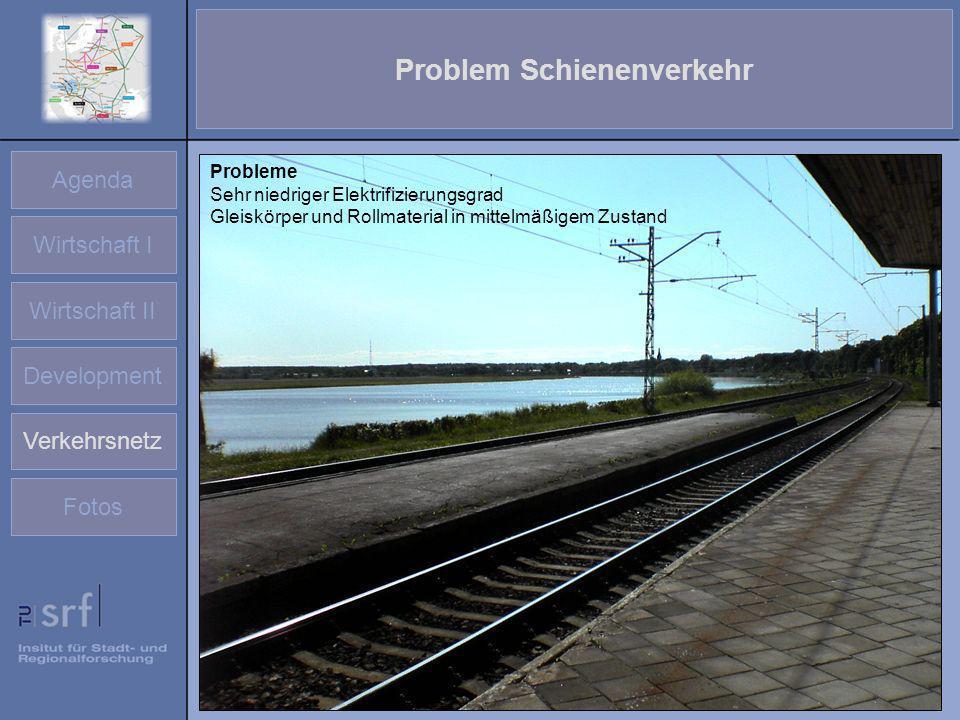 Problem Schienenverkehr