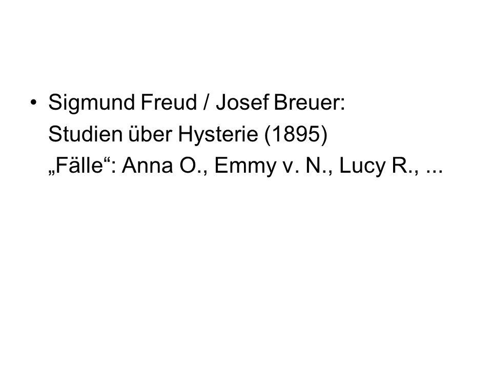 Sigmund Freud / Josef Breuer: