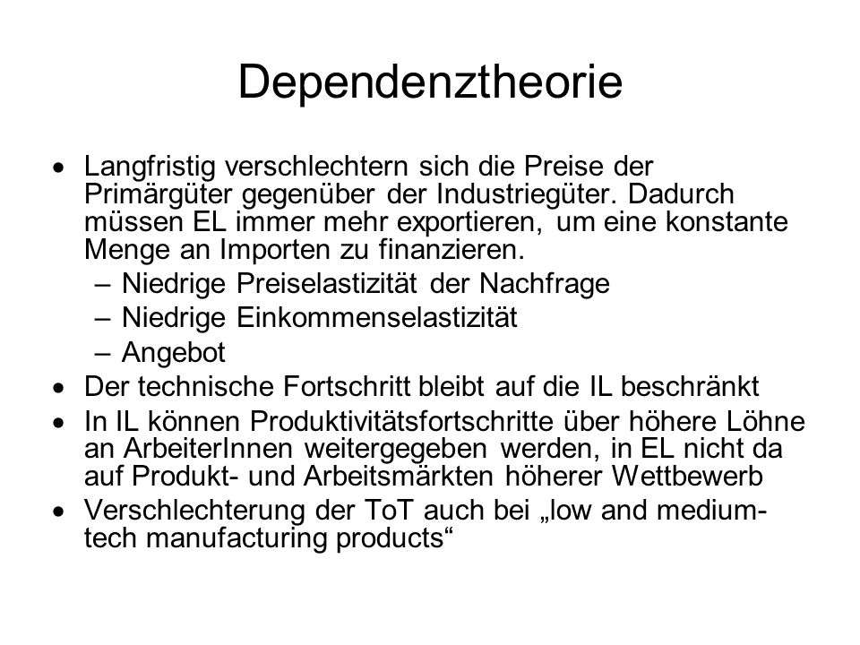Dependenztheorie