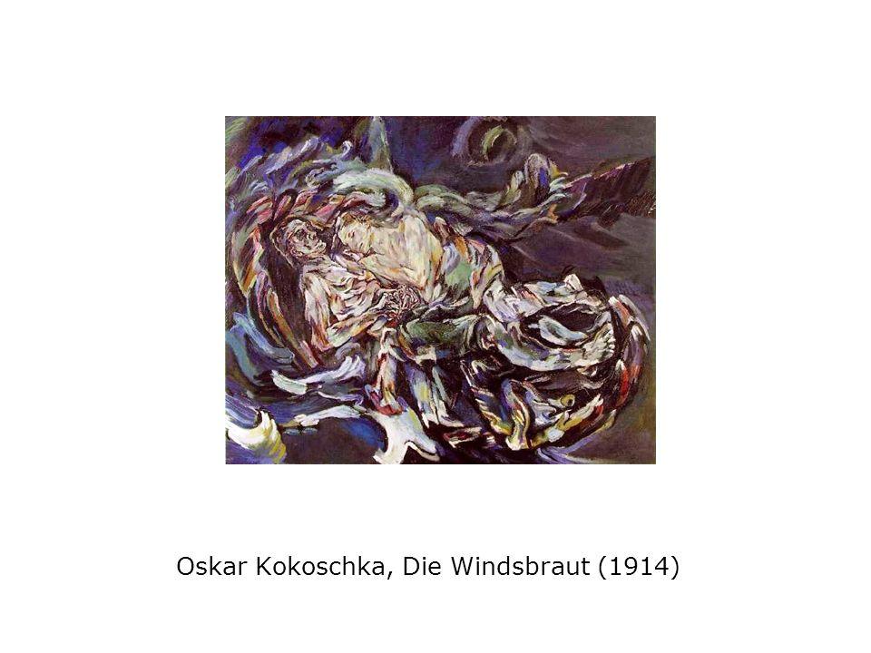 Oskar Kokoschka, Die Windsbraut (1914)