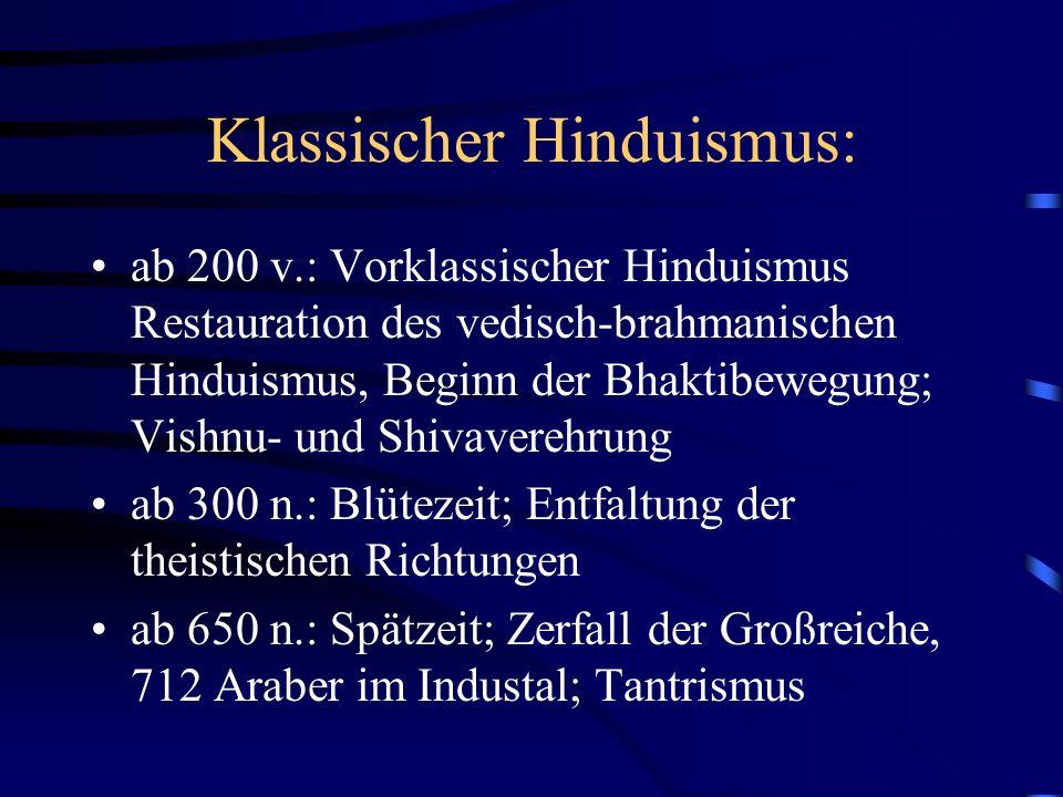Klassischer Hinduismus: