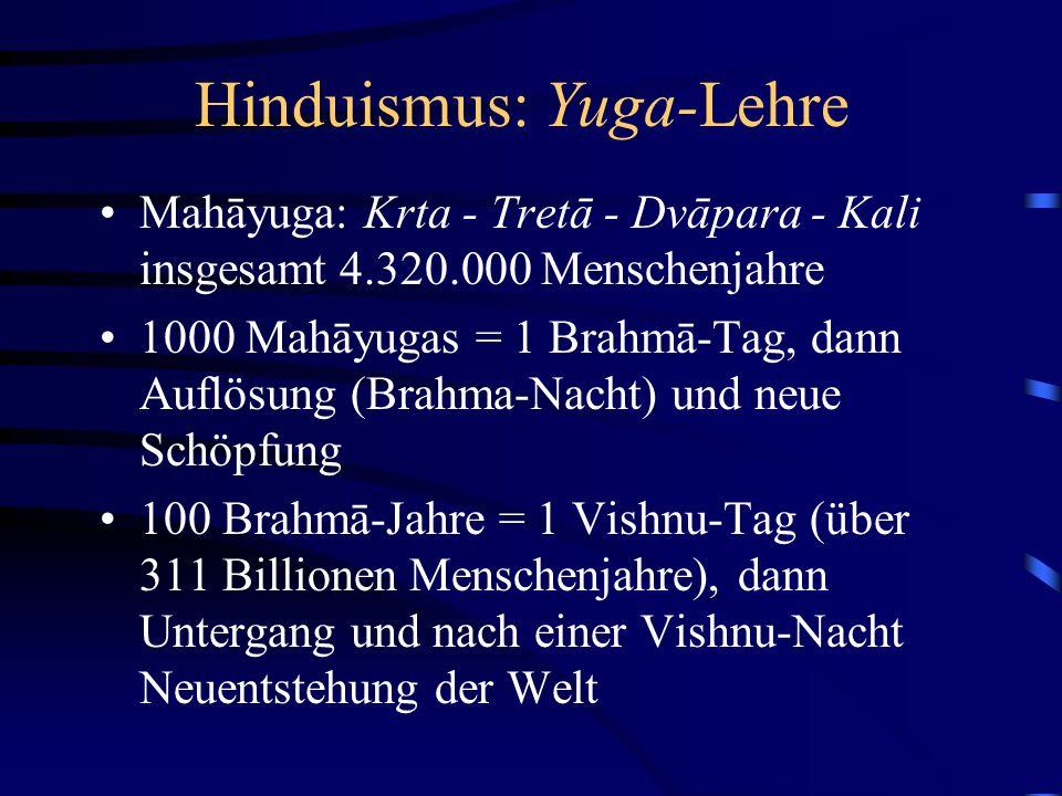 Hinduismus: Yuga-Lehre