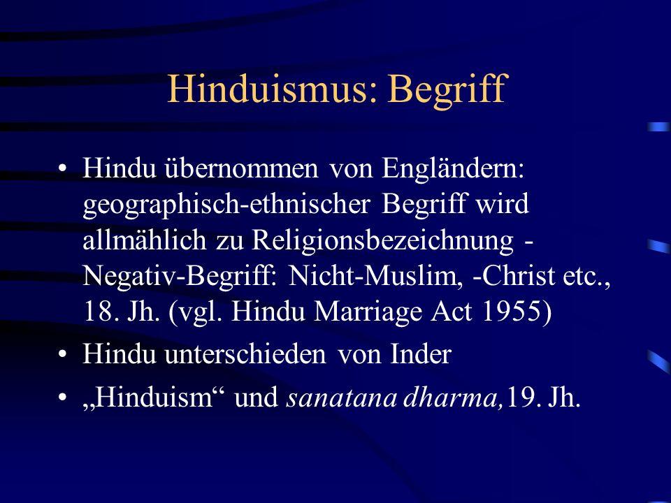 Hinduismus: Begriff