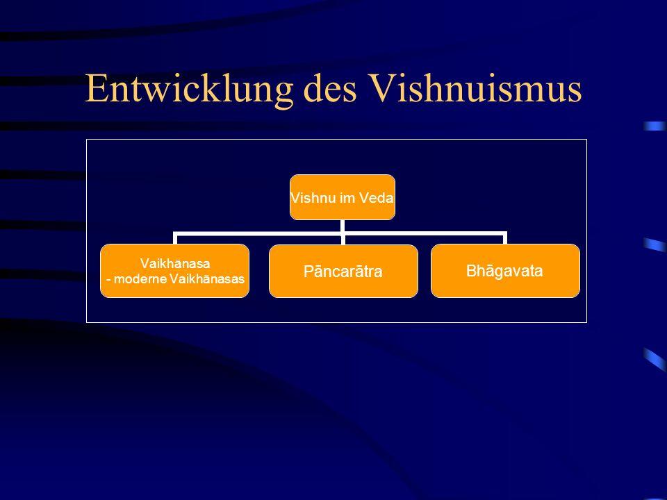 Entwicklung des Vishnuismus