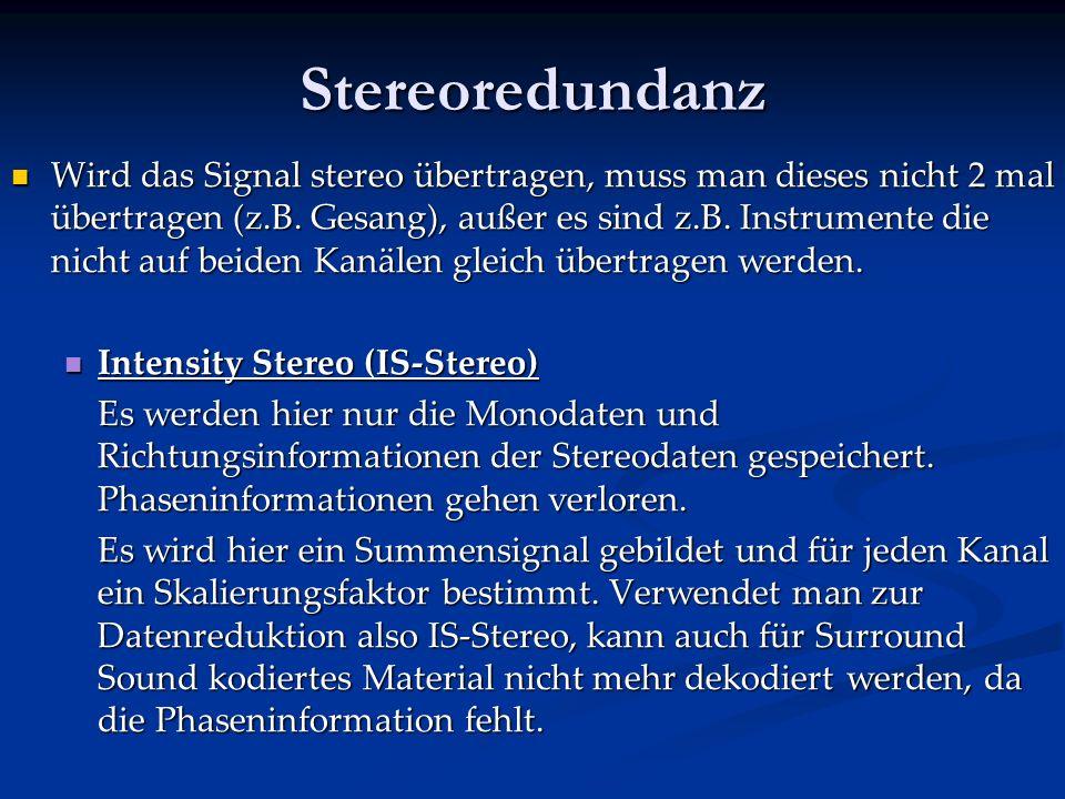 Stereoredundanz