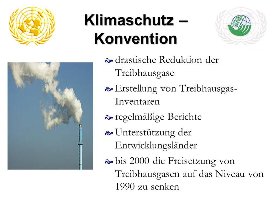 Klimaschutz – Konvention