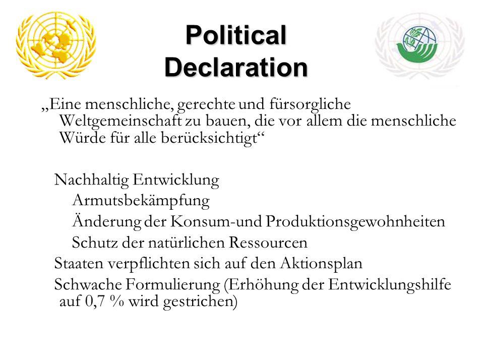 Political Declaration