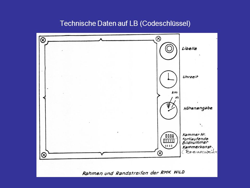 Technische Daten auf LB (Codeschlüssel)