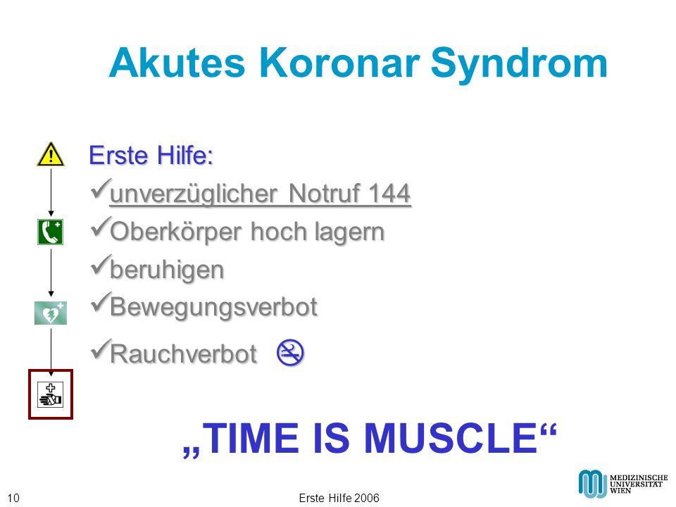Akutes Koronar Syndrom