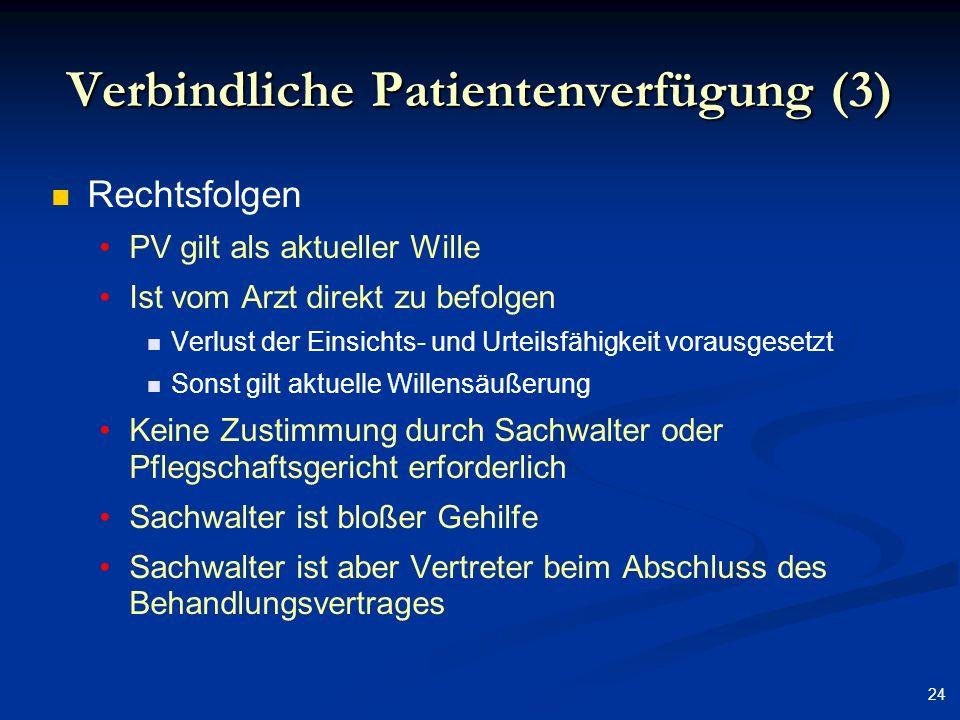 Verbindliche Patientenverfügung (3)