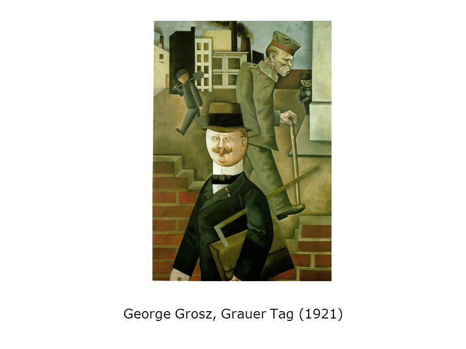 George Grosz, Grauer Tag (1921)