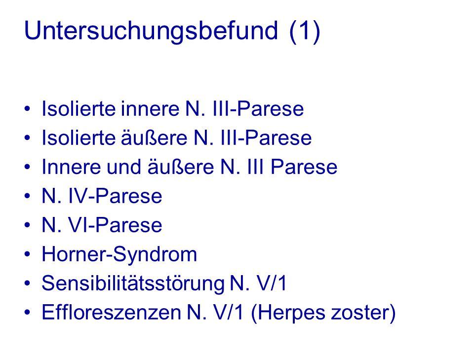 Untersuchungsbefund (1)