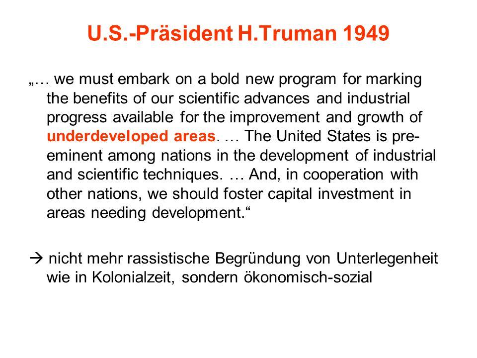 U.S.-Präsident H.Truman 1949