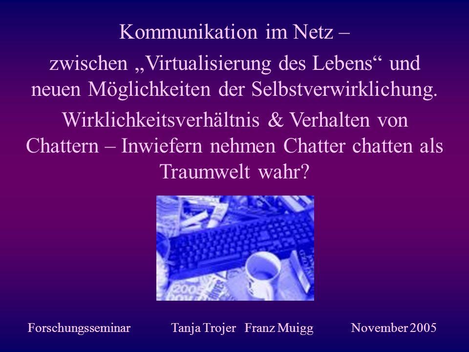 Kommunikation im Netz –