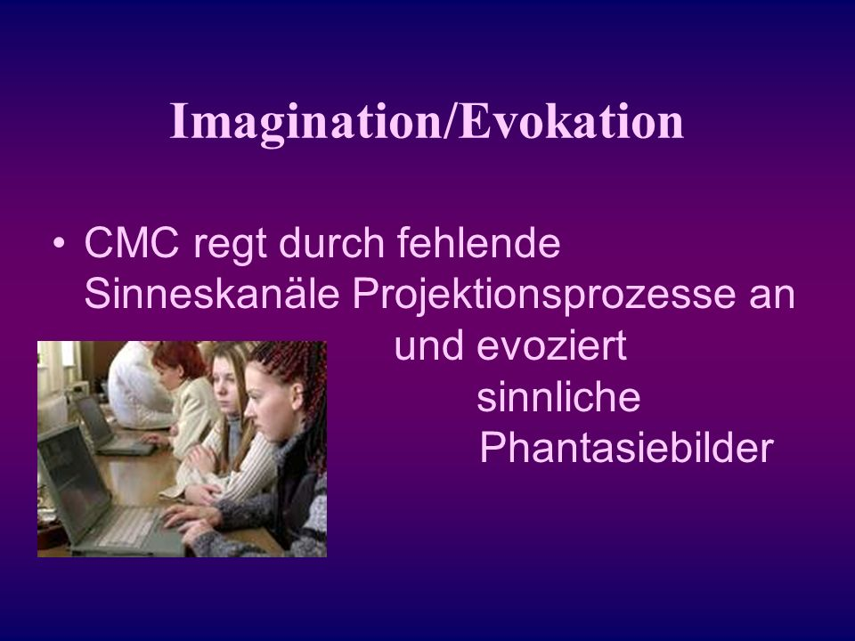 Imagination/Evokation