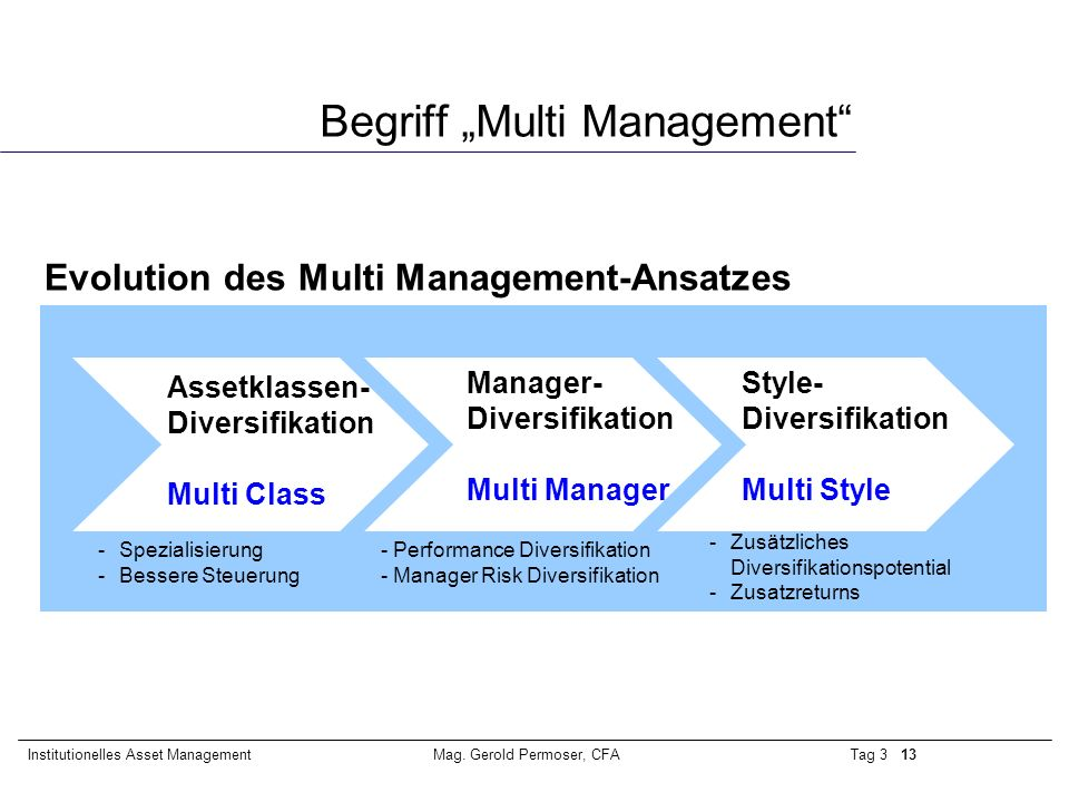 "Begriff ""Multi Management"