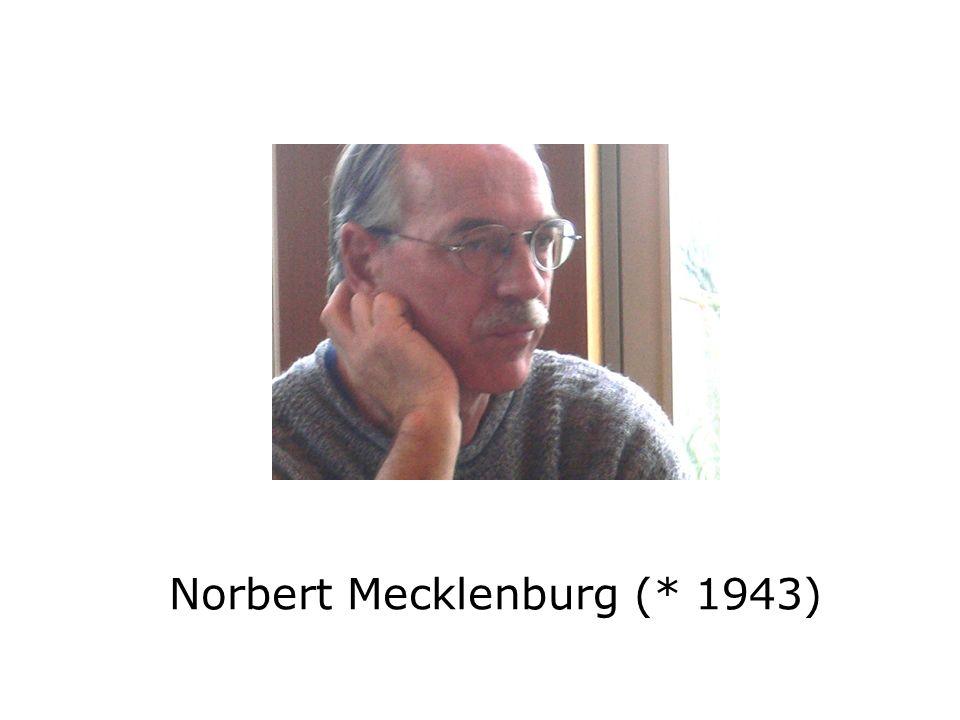 Norbert Mecklenburg (* 1943)