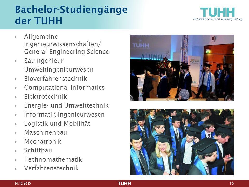 Bachelor-Studiengänge der TUHH