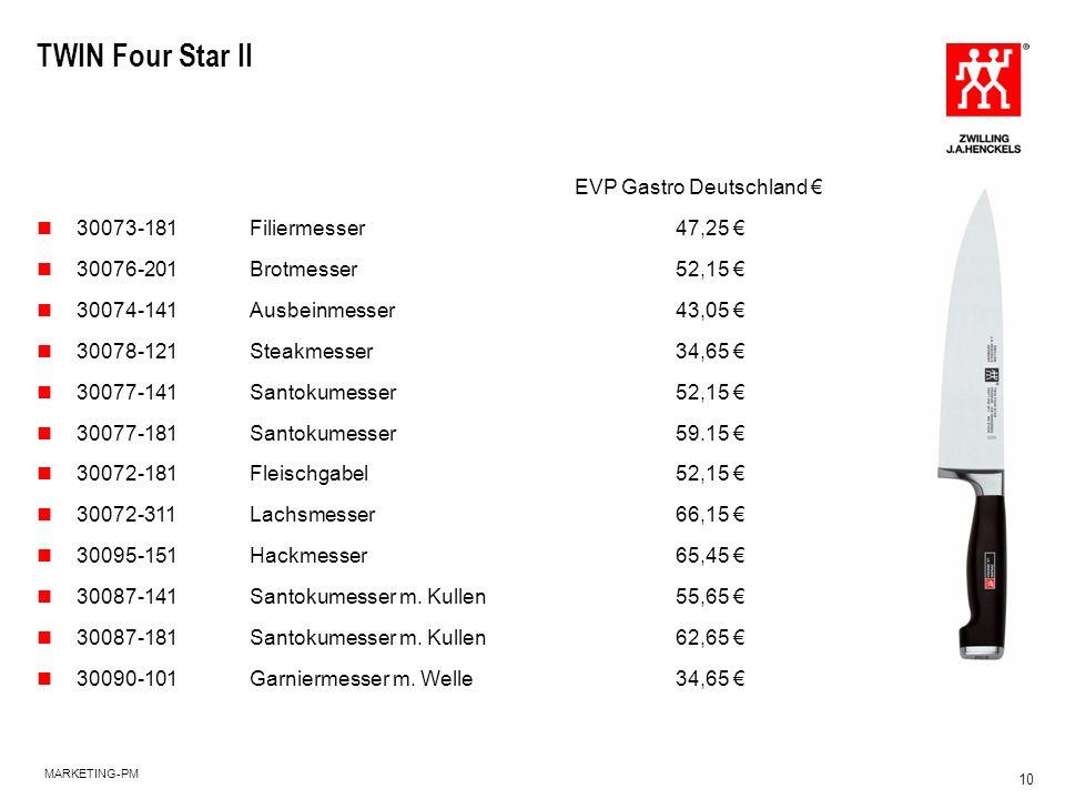TWIN Four Star II EVP Gastro Deutschland €