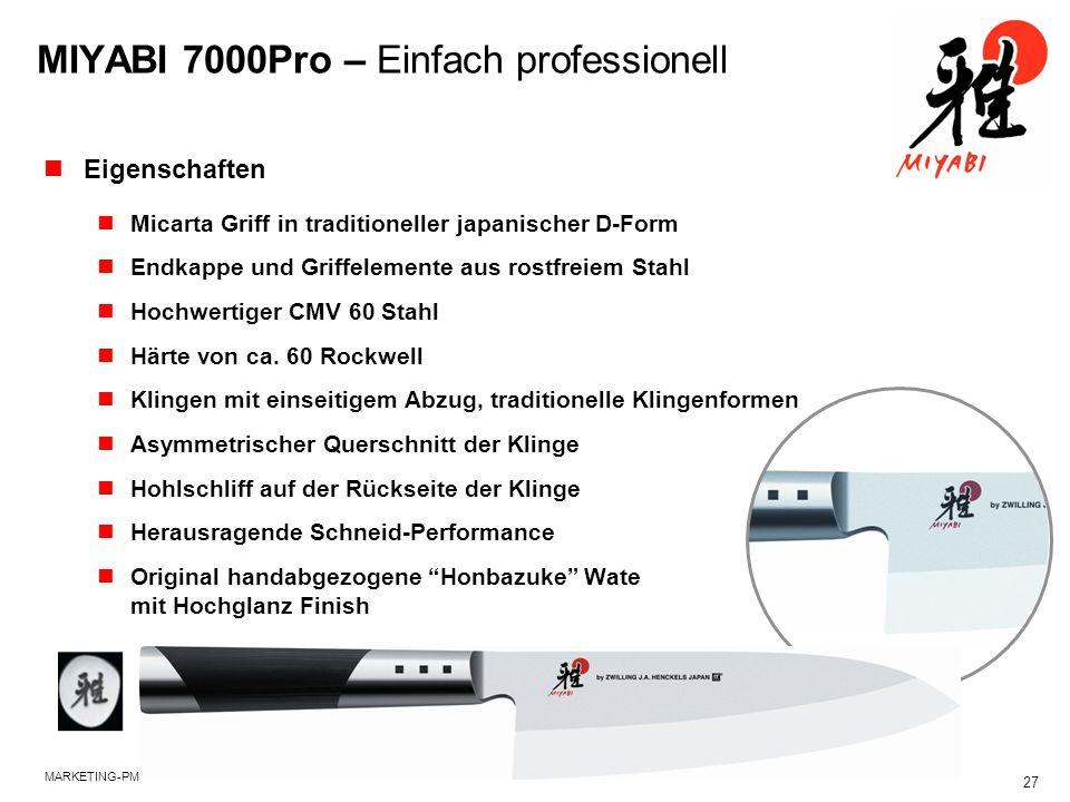 MIYABI 7000Pro – Einfach professionell