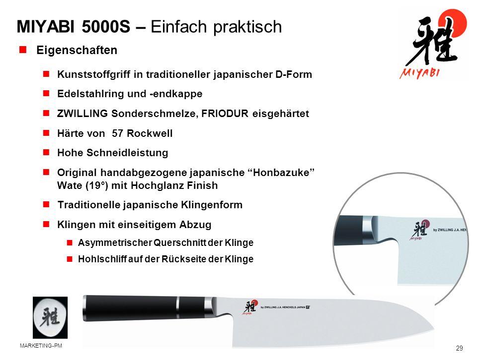 MIYABI 5000S – Einfach praktisch