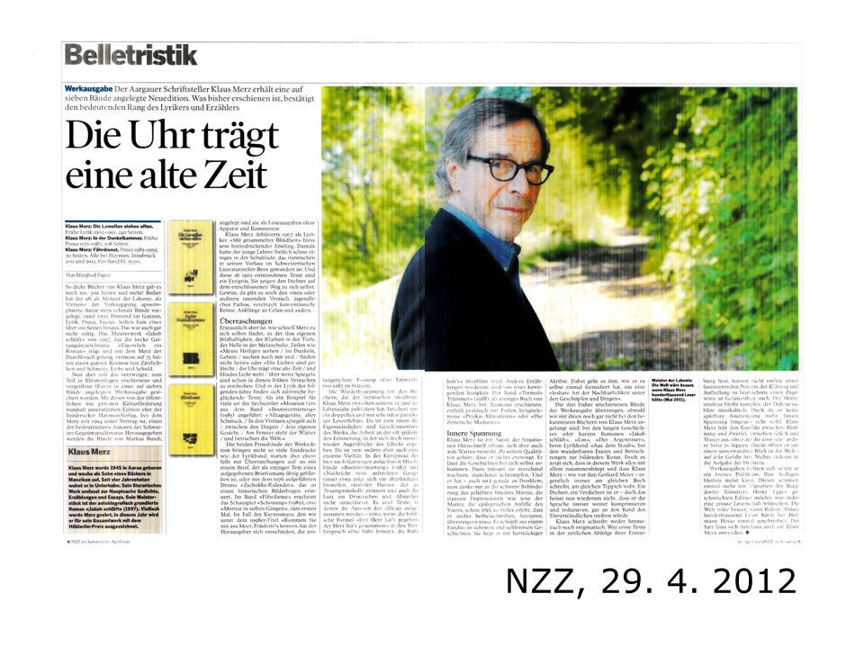 NZZ, 29. 4. 2012