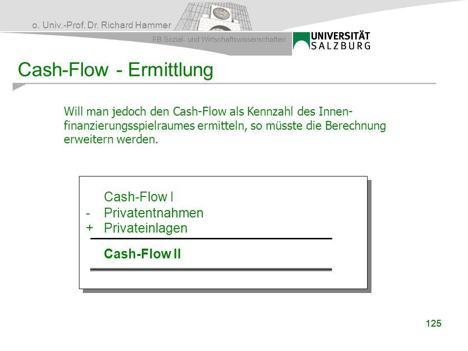 Cash-Flow - Ermittlung