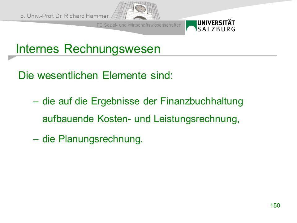 Internes Rechnungswesen