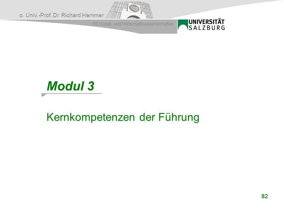 Modul 3 Kernkompetenzen der Führung 82 82