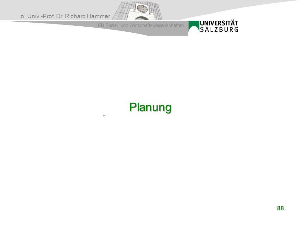 Planung 88 88