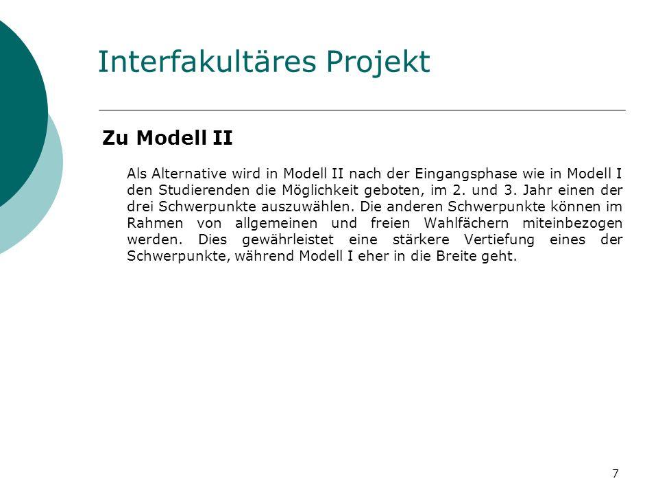 Interfakultäres Projekt