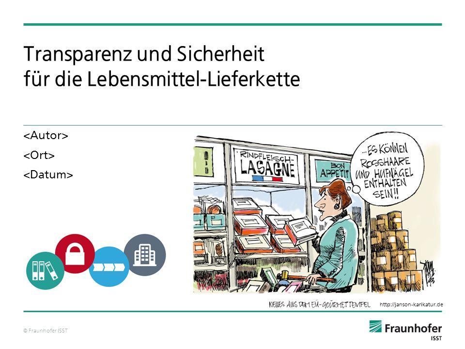 Transparenz und Sicherheit für die Lebensmittel-Lieferkette