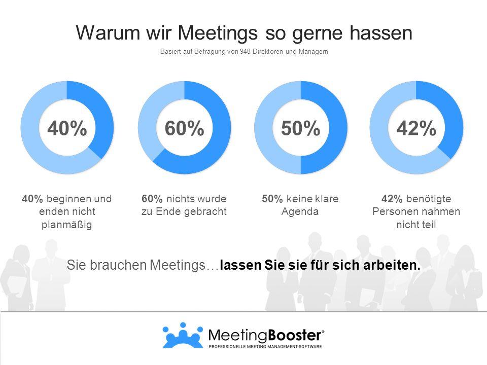 Warum wir Meetings so gerne hassen