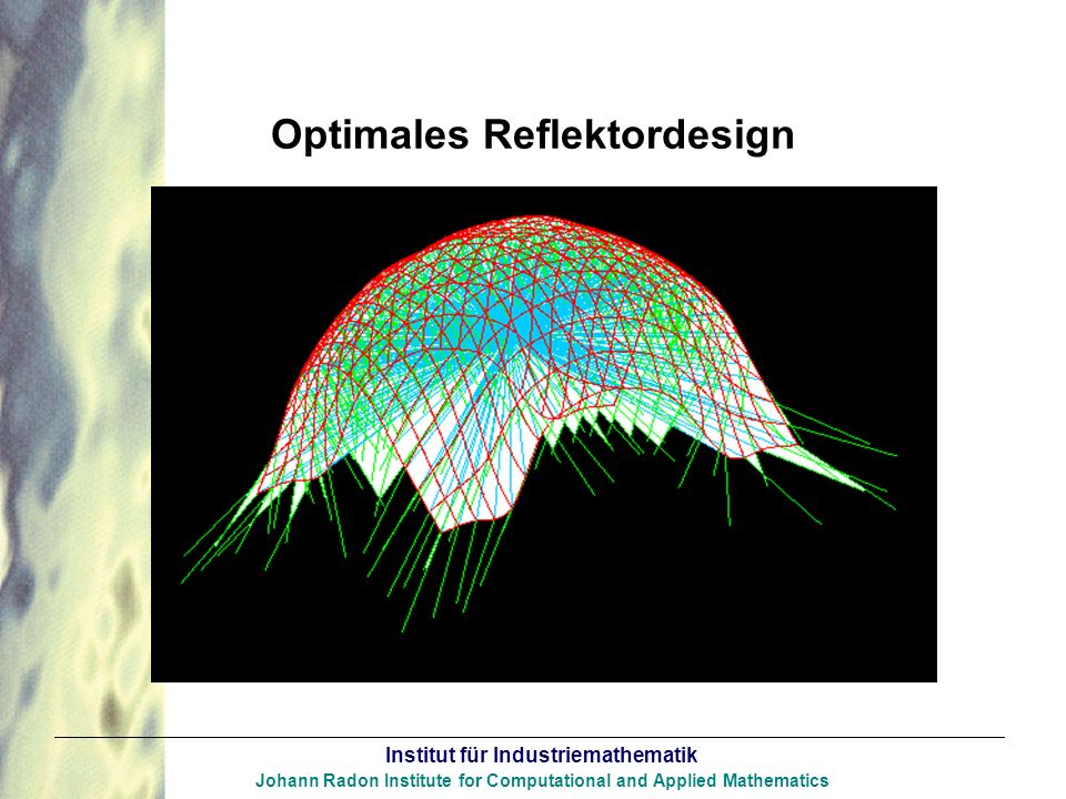 Optimales Reflektordesign
