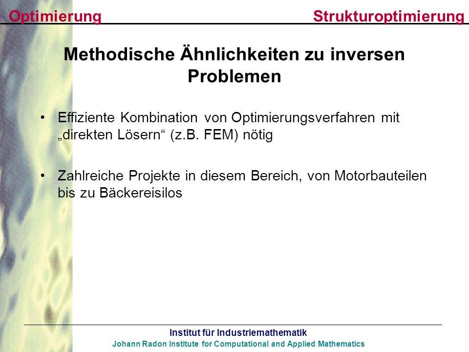 Methodische Ähnlichkeiten zu inversen Problemen