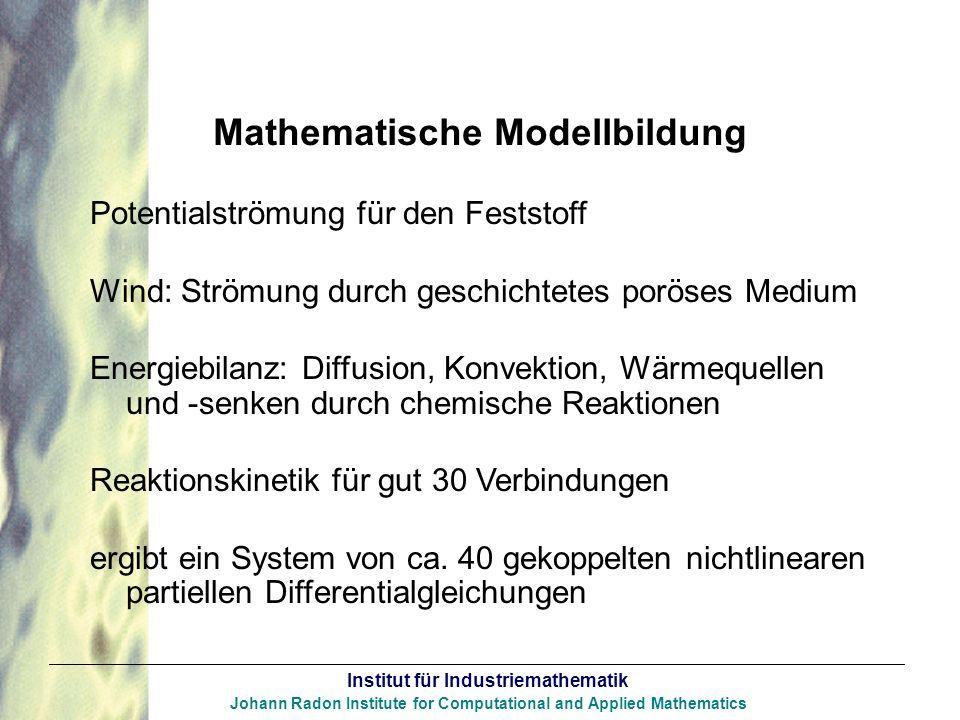 Mathematische Modellbildung