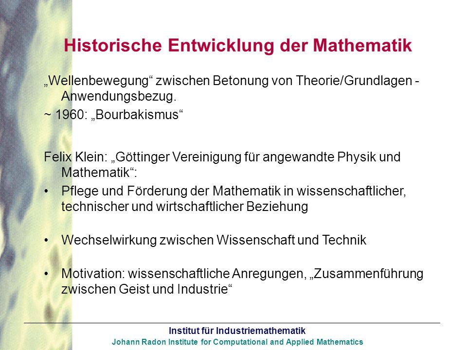 Historische Entwicklung der Mathematik