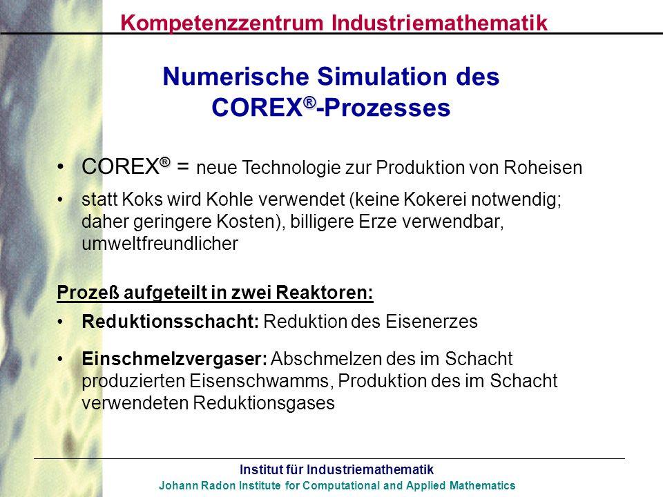 Numerische Simulation des COREX®-Prozesses