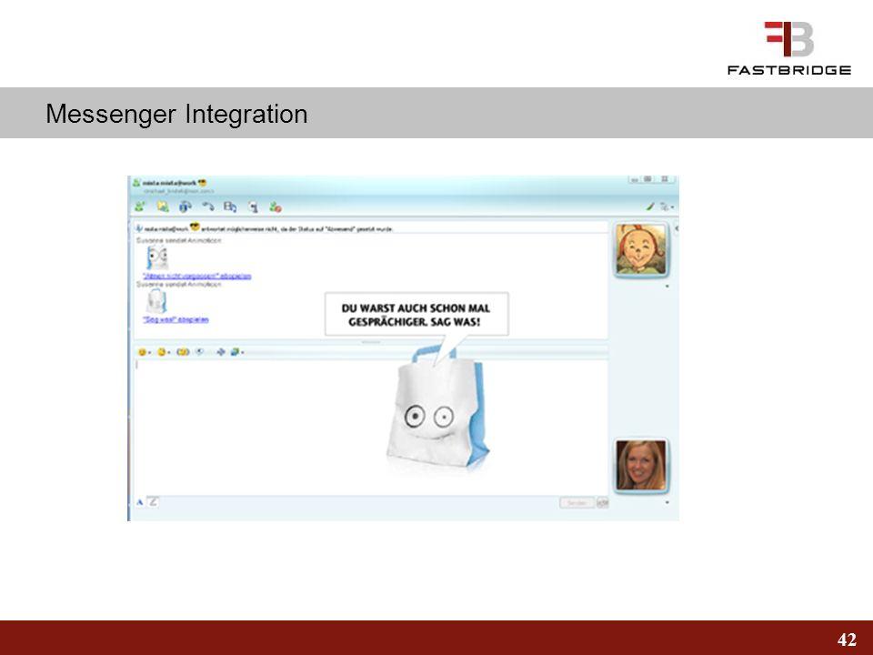 Messenger Integration