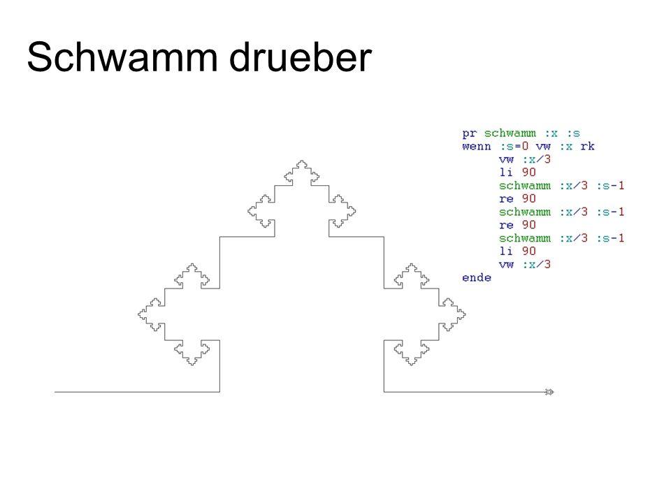 Schwamm drueber