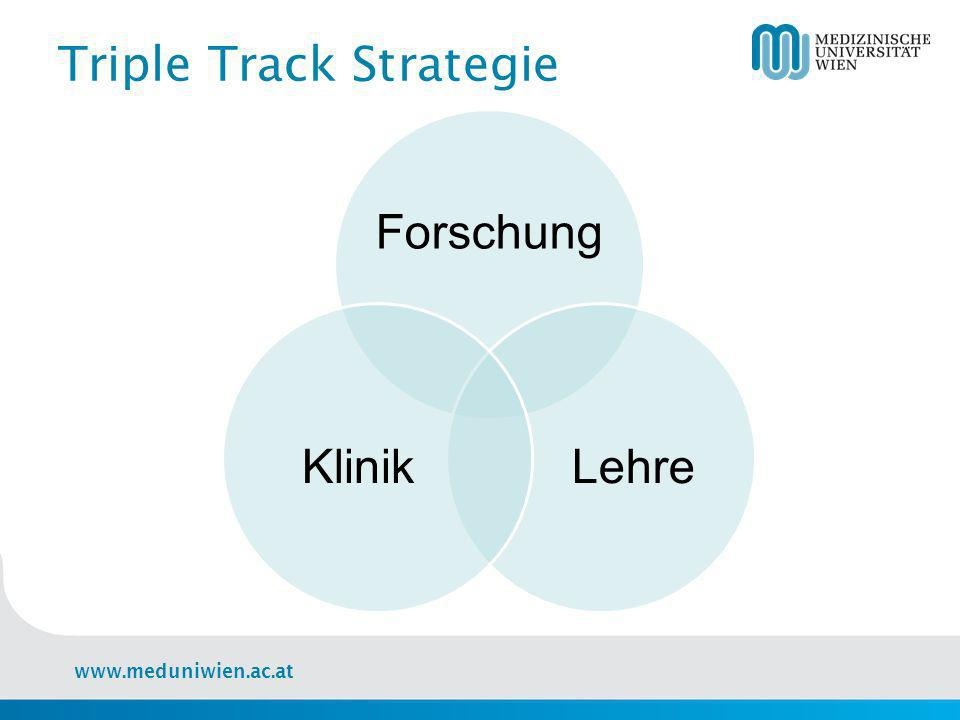 Triple Track Strategie