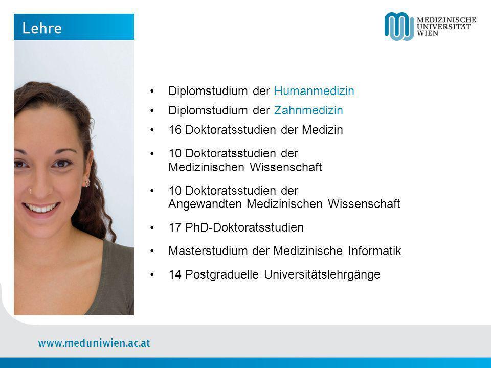 Diplomstudium der Humanmedizin