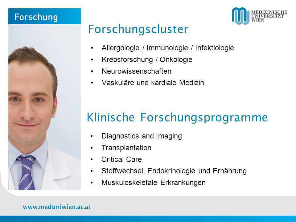 Klinische Forschungsprogramme