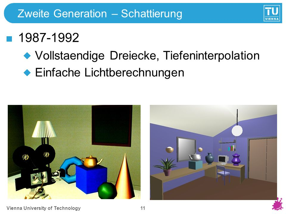 Dritte Generation – Texture Mapping