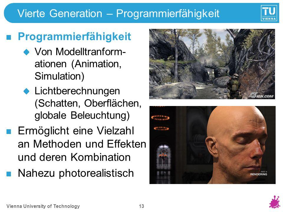 Video Beispiele Quake (1996) Crysis 2 (2011) 10-20 Echtzeitmethoden