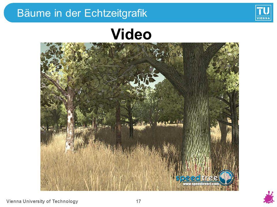 Bäume in der Echtzeitgrafik